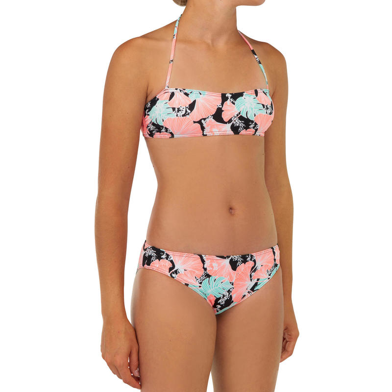 Two-piece swimsuit liloo 100 - Black
