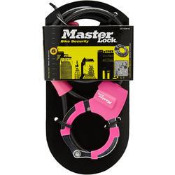 Kabelslot voor step Street Cuff-slot roze