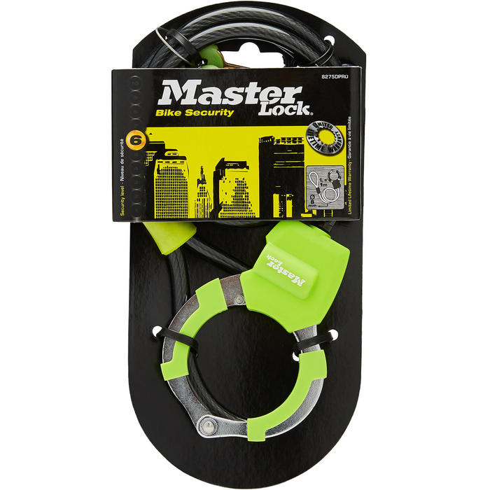 Masterlock antivol-menottes trottinette vert