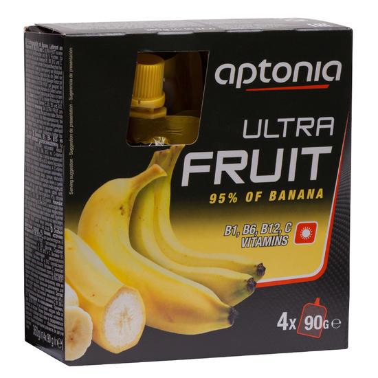 Vruchtenmoes Ultra Fruit 500 banaan 4x90 g - 176248