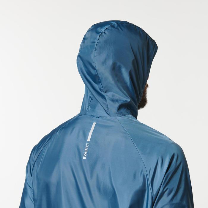 男款越野跑步防風外套 - 灰色