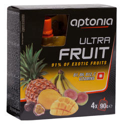 Vruchtenmoes Ultra Fruit 500 exotische vruchten 4x90 g
