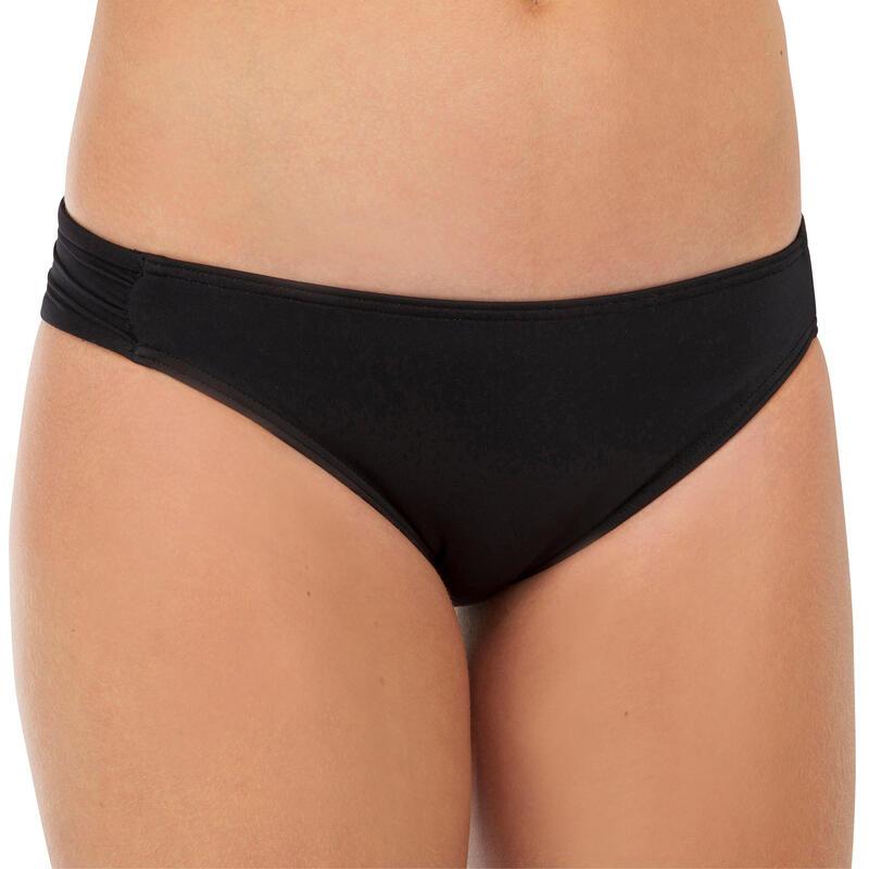 Braguita Bikini Niña Surf Olaian Malou 500 Negro