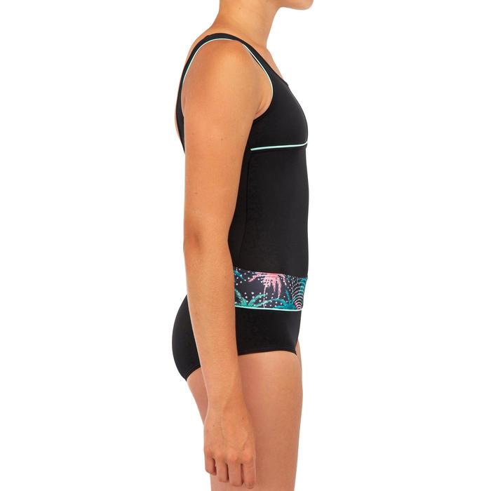 Surfbadpak voor meisjes Rio 500 zwart