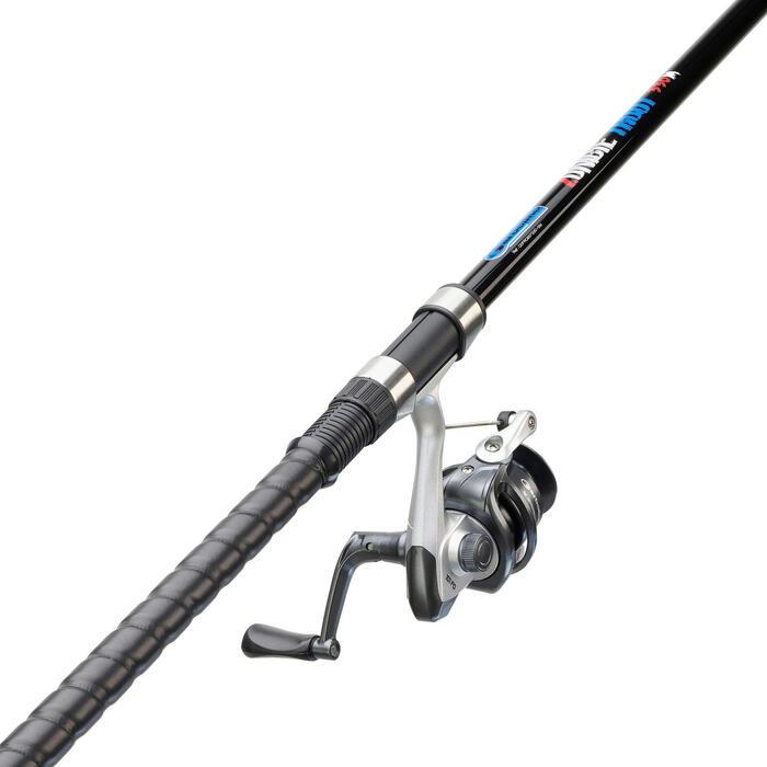 Canne pêche de la truite en étang COMBO ZOMBIE TROUT 3.3