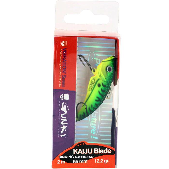 Kunstaas voor roofvissen Kaiju Blade 55 Fire Tiger