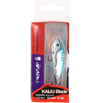 Leurre pêche aux leurres carnassier KAIJU BLADE 43 BLUE ALIVE