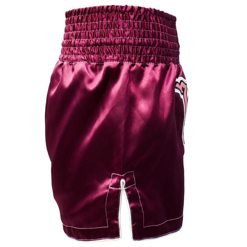กางเกงมวยไทยขาสั้นสำหรับผู้หญิงรุ่น F500