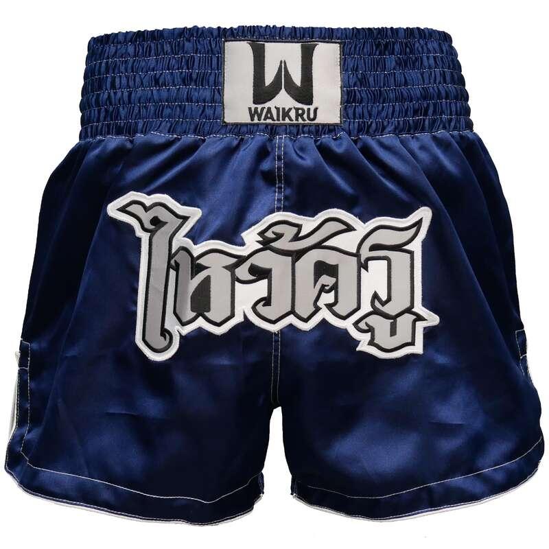 MUAY THAI Boksz - Rövidnadrág Muay Thai-hoz WAIKRU - Boksz, küzdősport - OUTSHOCK