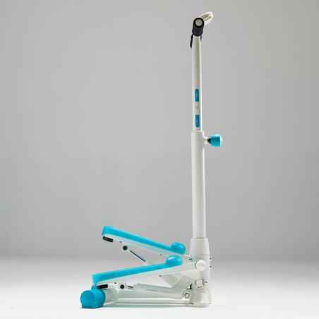Stepper MS120 - Ivory/Blue