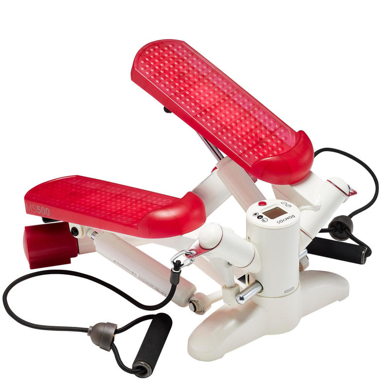 Swing Stepper Fitness Cardio MS500 Ivoire rosa