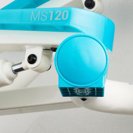 Stepper MS120 - Ivory/Blue