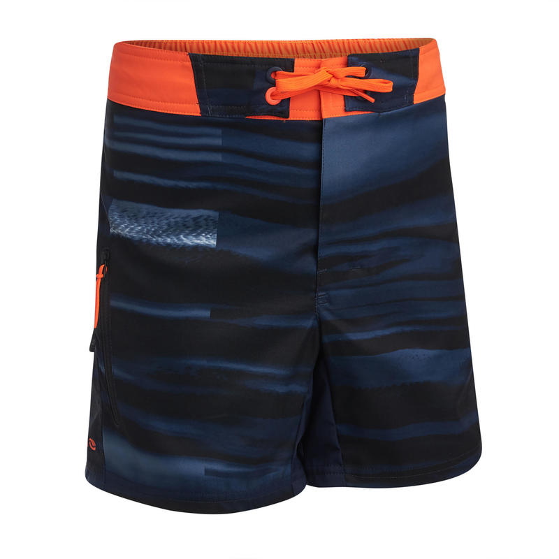 swim shorts 500 - blue/red