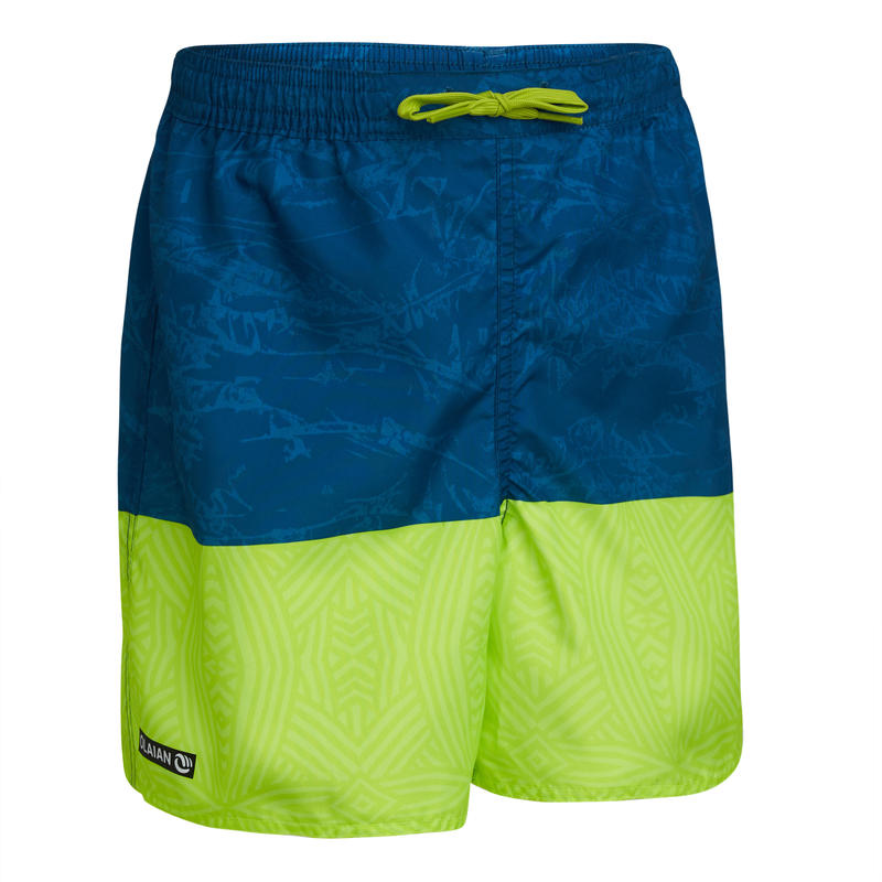 swimming shorts 100 - blue/green