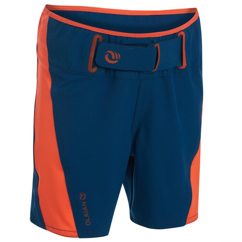 Kids' swim shorts 500 - blue