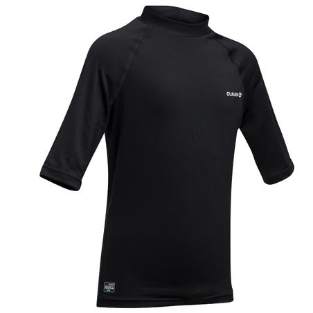 anti-UV T-shirt 100 - Red black