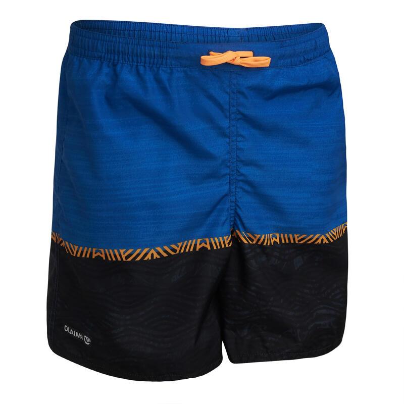 swimming shorts 100 - blue/black