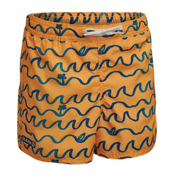 Kids' Boardshorts 100 ORIGAMI - Orange