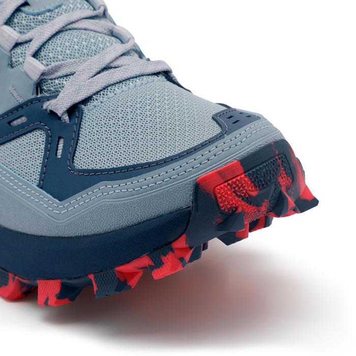 Trailschoenen voor dames MT2 lichtblauw/roze