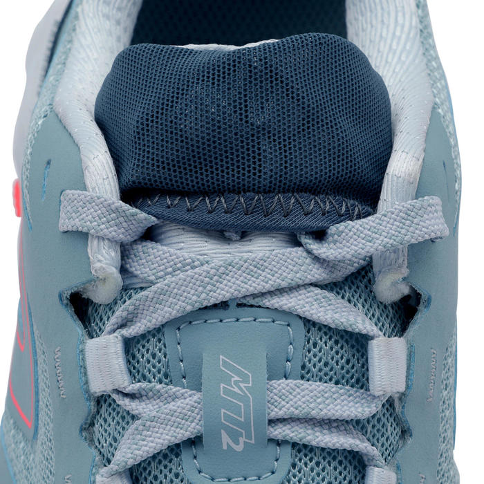 MT2 WOMEN'S TRAIL RUNNING SHOES - LIGHT BLUE/PINK