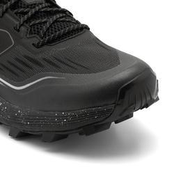 男款比賽用超級越野跑鞋- 黑白配色