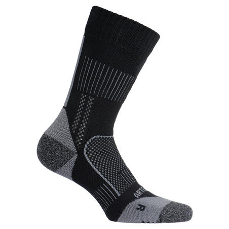 High-Cut Tennis Socks RS 900 Tri-Pack - Black/Grey
