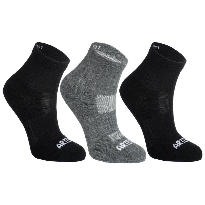 Chaussettes de sport ArtengoRS160mi-hautes(x3) – Enfants