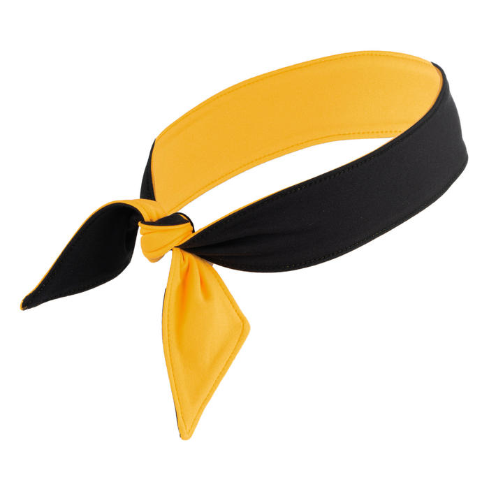 Tennis Bandana - Black/Yellow