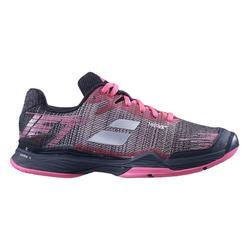 Tennisschoenen voor dames Babolat Jet Mach II zwart/roze