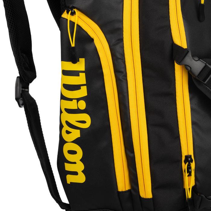 Beachvolleybalrugzak zwart/geel