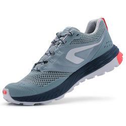 Trailschoenen voor dames TR lichtblauw/roze
