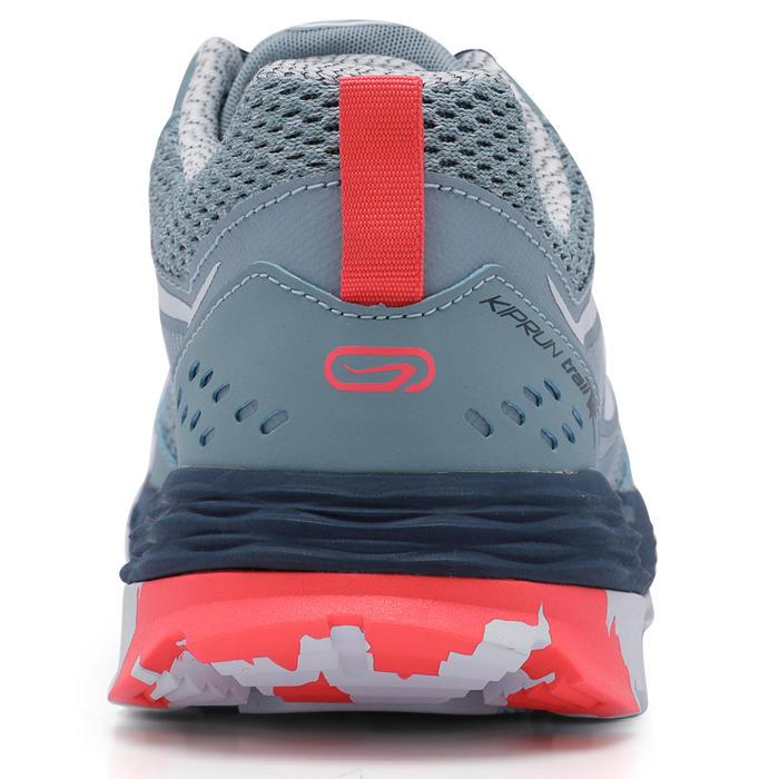 女款越野跑鞋TR- 淡藍色配粉紅色