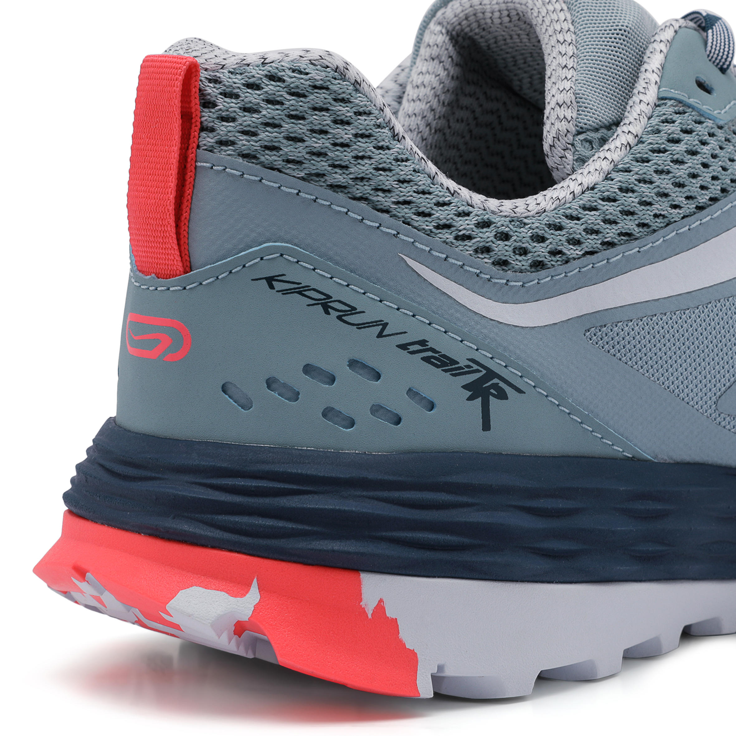 TRAIL RUNNING SHOES - LIGHT BLUE/PINK