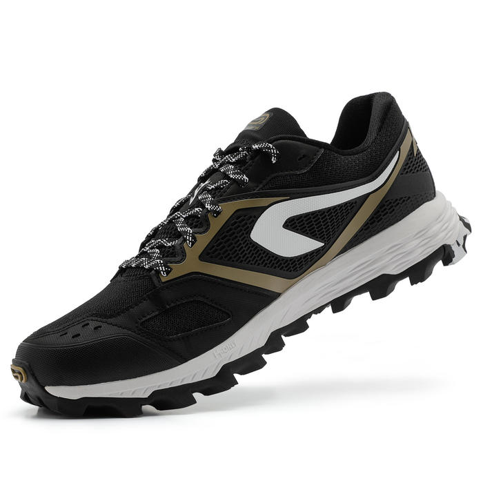 XT7 MEN'S TRAIL RUNNING SHOES - BLACK/BRONZE