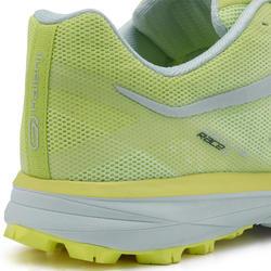 Trailschoenen voor dames Race 4 geel/wit