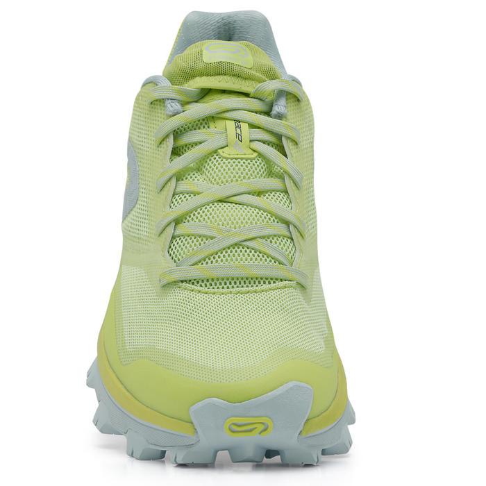 Chaussure trail running pour femme RACE 4 jaune et blanc