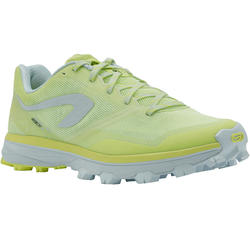 RACE 4 WOMEN'S TRAIL RUNNING SHOES - YELLOW/WHITE