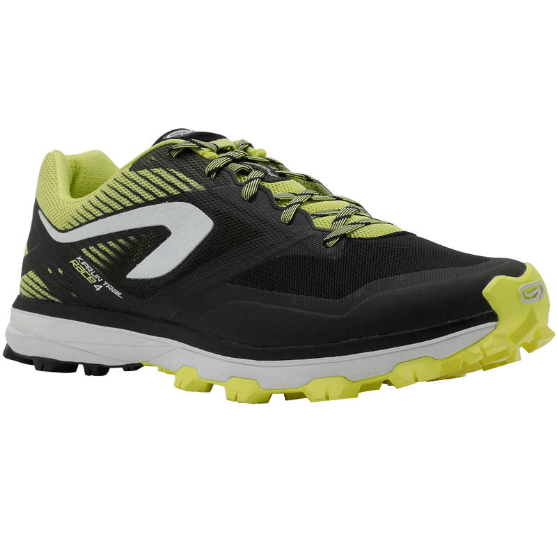 SCARPE TRAIL UOMO Running, Trail, Atletica - Scarpe trail uomo RACE 4 nere EVADICT - Running, Trail, Atletica