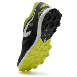 RACE 4 MEN'S TRAIL RUNNING SHOES - BLACK/YELLOW