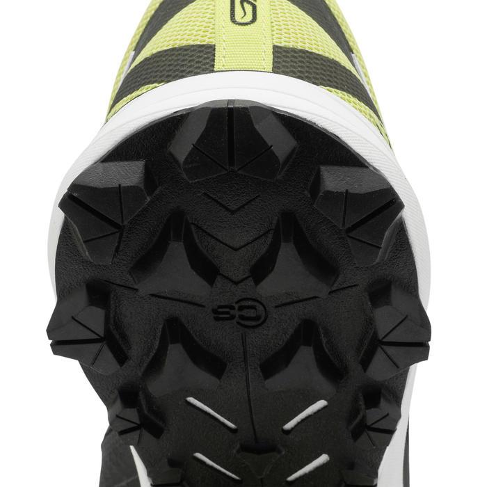 Chaussure trail running pour homme Race 4 noire jaune