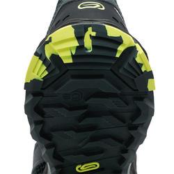 Trailschoenen voor heren TR donkerblauw/geel