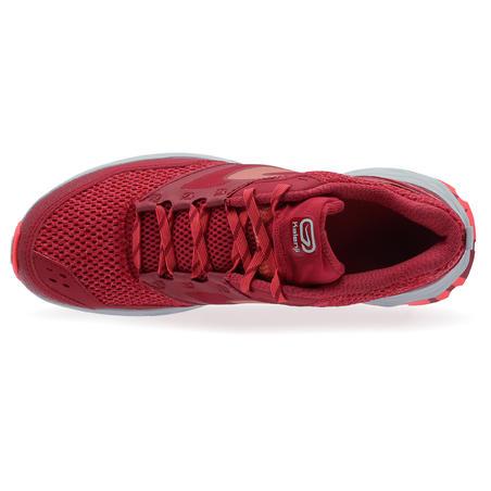 Tenis de trail running para mujer TR rosa y blanco