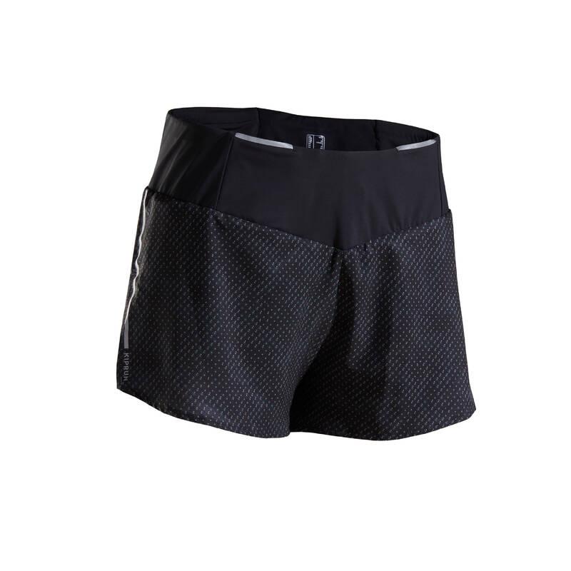 DÁMSKÉ BĚŽECKÉ OBLEČENÍ NA BĚH PO SILNICI Běh - BĚŽECKÉ KRAŤASY LIGHT KIPRUN - Běžecké oblečení