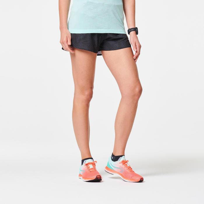 女款跑步短褲KIPRUN LIGHT - 黑色