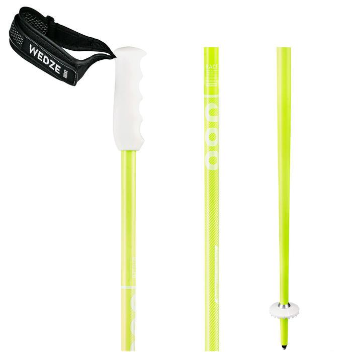 Skistokken voor de reuzenslalom 980 fluogeel