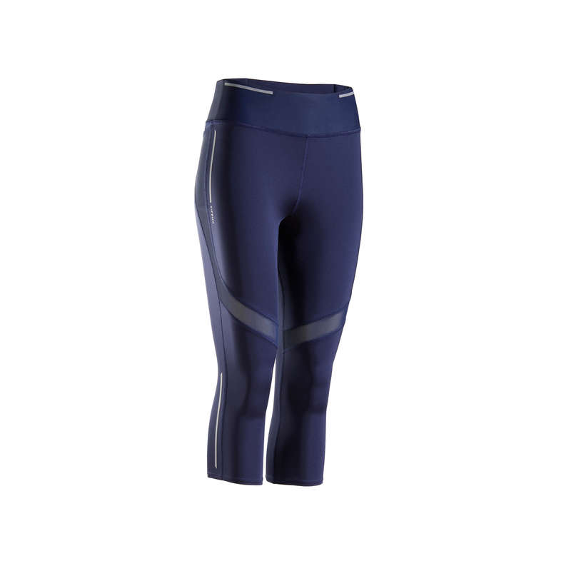 WOMAN WARM/MILD WEATHER RUNNING CLOTHES Clothing - KIPRUN SUPPORT 3/4 TIGHTS W KIPRUN - Bottoms