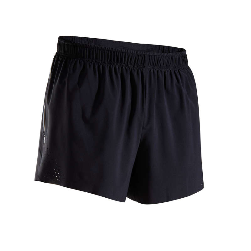MAN WARM/MILD WEATHER RUNNING CLOTHES Clothing - LIGHT MEN'S RUNNING SHORTS KIPRUN - Bottoms