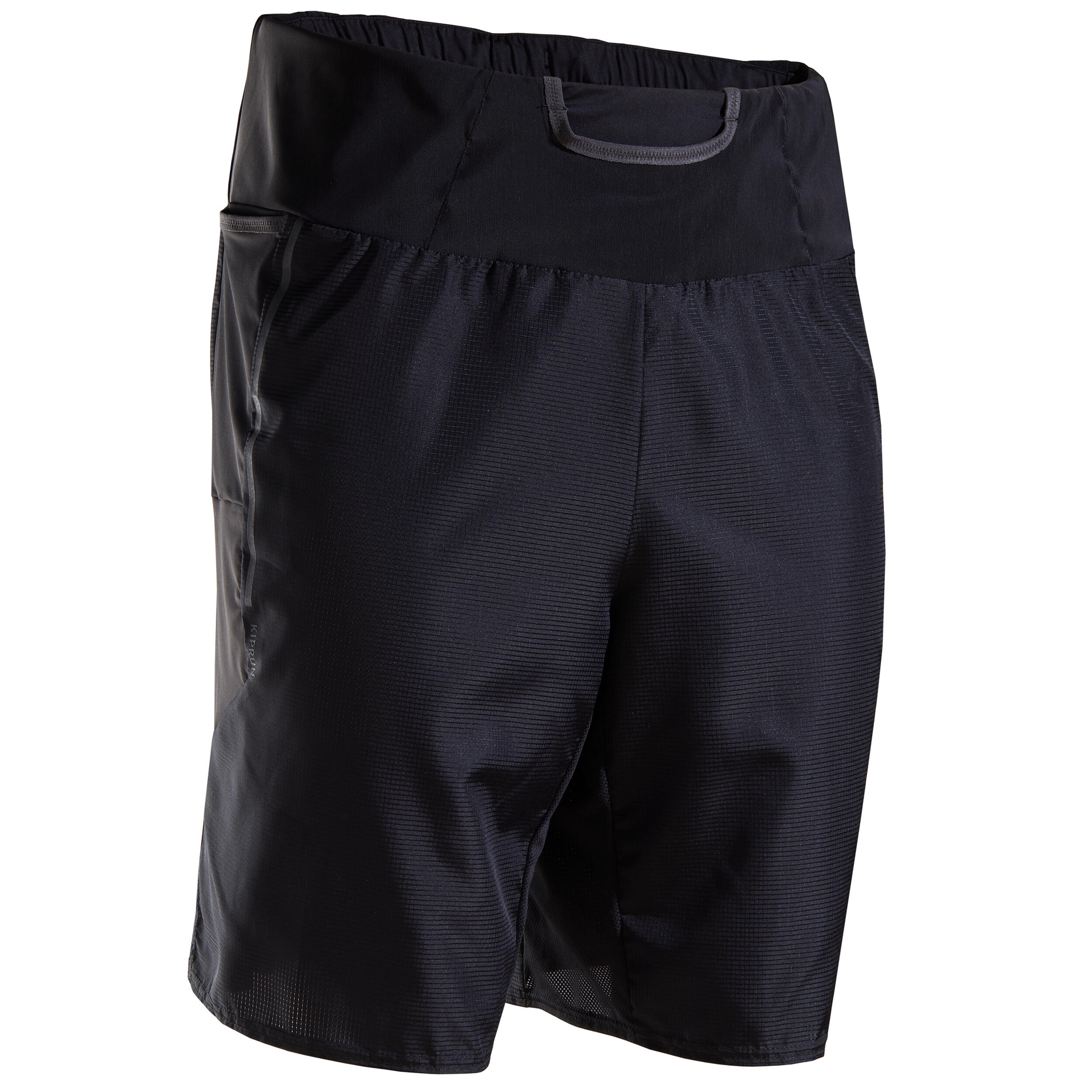 Laufshorts Marathon Herren schwarz | Sportbekleidung > Sporthosen > Laufhosen | Kiprun