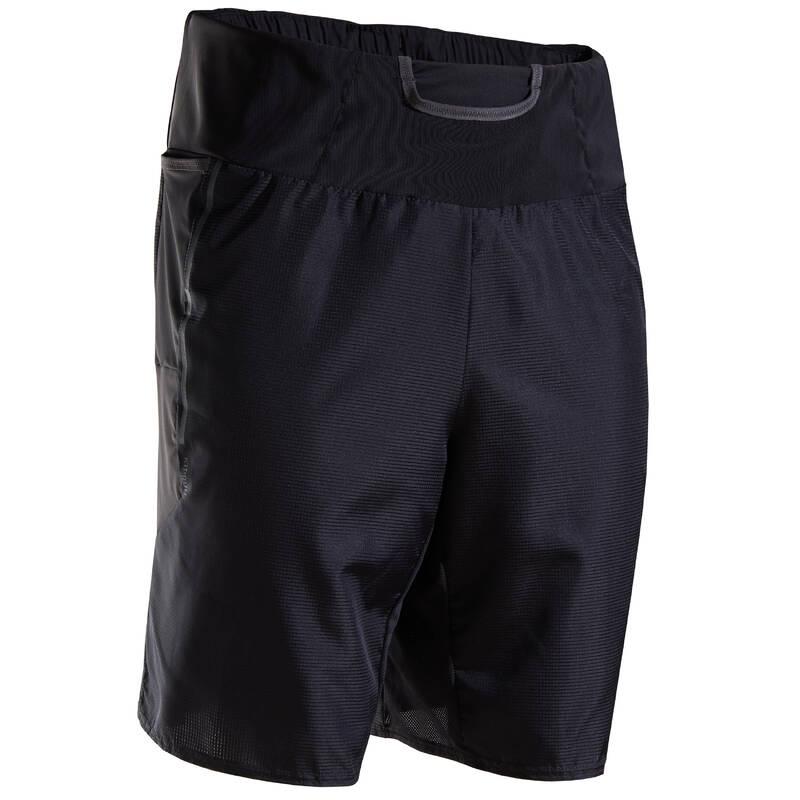 PÁNSKÉ BĚŽECKÉ OBLEČENÍ NA BĚH PO SILNICI Běh - KRAŤASY MARATHON ČERNÉ  KIPRUN - Běžecké oblečení
