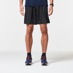 男款馬拉松短褲 - 黑色